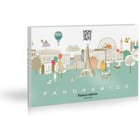 Paris Panoramic Colouring Picture