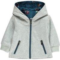 Rookie Revrsible Zip-Up Hooded Jacket