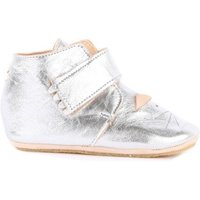 Cat Kiny Velcro Leather Slippers
