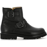 Roadster Buckled Leather Boots