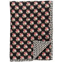 Russian Flower Reversible Quilted Plaid