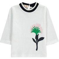 Baby Double Rib Trim Floral T-Shirt