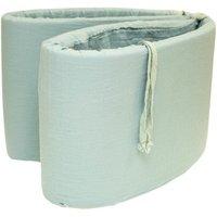 Cotton Gauze Cot Bumper 30x180cm