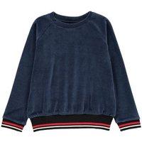 Loes Velvet Sweatshirt