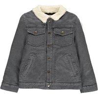 Brando Imitation Sheepskin Collar Jacket