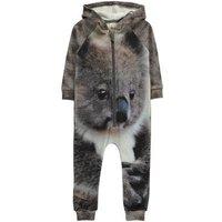 Koala Zip-Up Hooded Jumpsuit