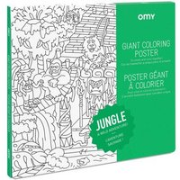 Jungle Giant Colouring Poster