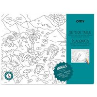 Animals Colouring Table Set