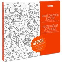 Sport Giant Colouring Poster