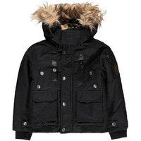 Camouflage Fleece Lined Duvet Waterproof Down Jacket