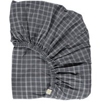 Ikat Checked Fitted Sheet