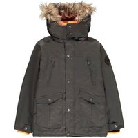 Sleevless 2-in-1 Down Parka With Removable Hood