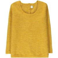 Cermione Buttoned Back Wool & Mohair Jumper