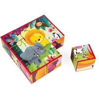 Jungle Animals Cubes - Set of 9 Cubes