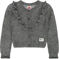 Lurex Frilled Mohair Wool Cardigan