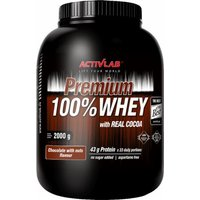 ACTIVLAB Premium 100% Whey 2000 Grams Chocolate with Nuts