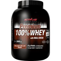 ACTIVLAB Premium 100% Whey 2000 Grams Chocolate with Chili