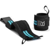 Better Bodies Women's Wrist Wraps  Aqua Blue