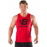 Bodybuilding.com Clothing B Swoosh Tank XL Red