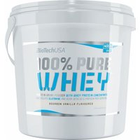 Biotech USA 100% Pure Whey 4000 Grams  Bourbon Vanilla