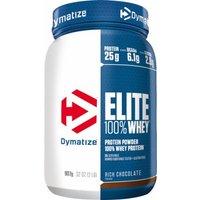 Dymatize Elite 100% Whey Protein 907 Grams  Rich Chocolate