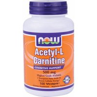 NOW Acetyl-L-Carnitine 500mg-100 Capsules