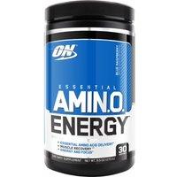 Optimum Nutrition Essential AmiN.O. Energy 30 Servings  Blue Raspberry