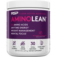 RSP Nutrition AminoLean Energy Formula 30 Servings  Blackberry Pomegranate