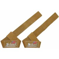 Schiek Leather Lifting Straps 21 Inches Brown