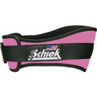 Schiek Women's Nylon Contour Belt 4-3-4 - XS Pink