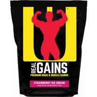 Universal Nutrition Real Gains 6.85 Lbs.  Strawberry Ice Cream