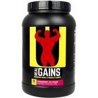 Universal Nutrition Real Gains 3.8 Lbs.  Strawberry Ice Cream
