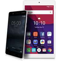 Nokia 3 Silver White + Android Tablet (Existing Virgin Media Customers)