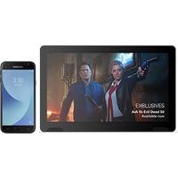 Samsung Galaxy J3 (2017) Black +TellyTablet (Existing Virgin Media Customers)