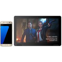 Samsung Galaxy S7 32GB Platinum Gold +TellyTablet (Existing Virgin Media Customers)