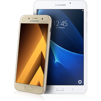 Samsung Galaxy A3 (2017) Gold + Tab A 7 Tablet (Existing Virgin Media Customers)