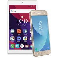 Samsung Galaxy J3 (2017) Gold + Android Tablet (Existing Virgin Media Customers)