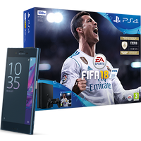 Sony Xperia XZ Forest Blue + PS4 + FIFA 18 (Existing Virgin Media Customers)