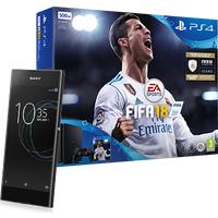 Sony Xperia XA1 Graphite Black + PS4 + FIFA 18 (Existing Virgin Media Customers)