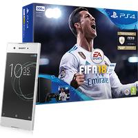 Sony Xperia XA1 White + PS4 + FIFA 18   (Existing Virgin Media Customers)