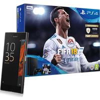 Sony Xperia XZ Black Mineral + PS4 + FIFA 18 (Existing Virgin Media Customers)