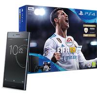 Sony Xperia XZ Premium Black + PS4 + FIFA 18 (Existing Virgin Media Customers)