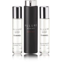 CHANEL Allure Homme Sport EDT Travel Spray 3x20ml