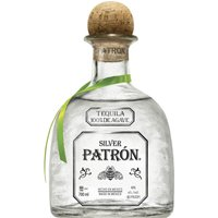 Patron - Silver 70cl Bottle - Silver Gifts