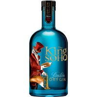 King Of Soho - London Dry Gin 70cl Bottle - Gin Gifts