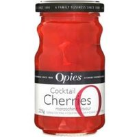 Opies - Cocktail Cherries Without Stems 225g Jar - Cocktail Gifts