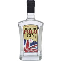 British Polo Gin - No.3 Botanical 70cl Bottle - Polo Gifts