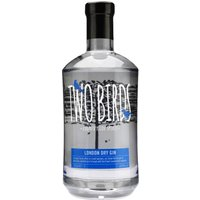 Two Birds - London Dry Gin 70cl Bottle - Birds Gifts