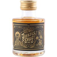 Pirates Grog - No 13 Single Batch 13 Year Aged Rum Miniature 5cl Miniature - Pirates Gifts
