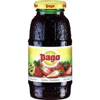 Pago - Strawberry Cocktail Juice 12x 200ml Bottles - Strawberry Gifts